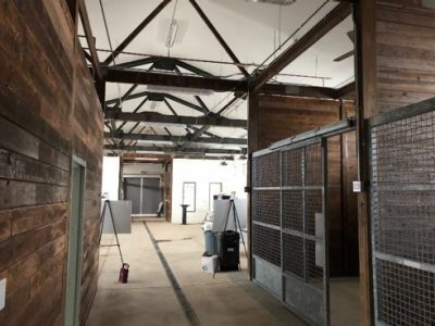 Marion duPont Scott Equine Medical Center Fout Barn Interior Renovations