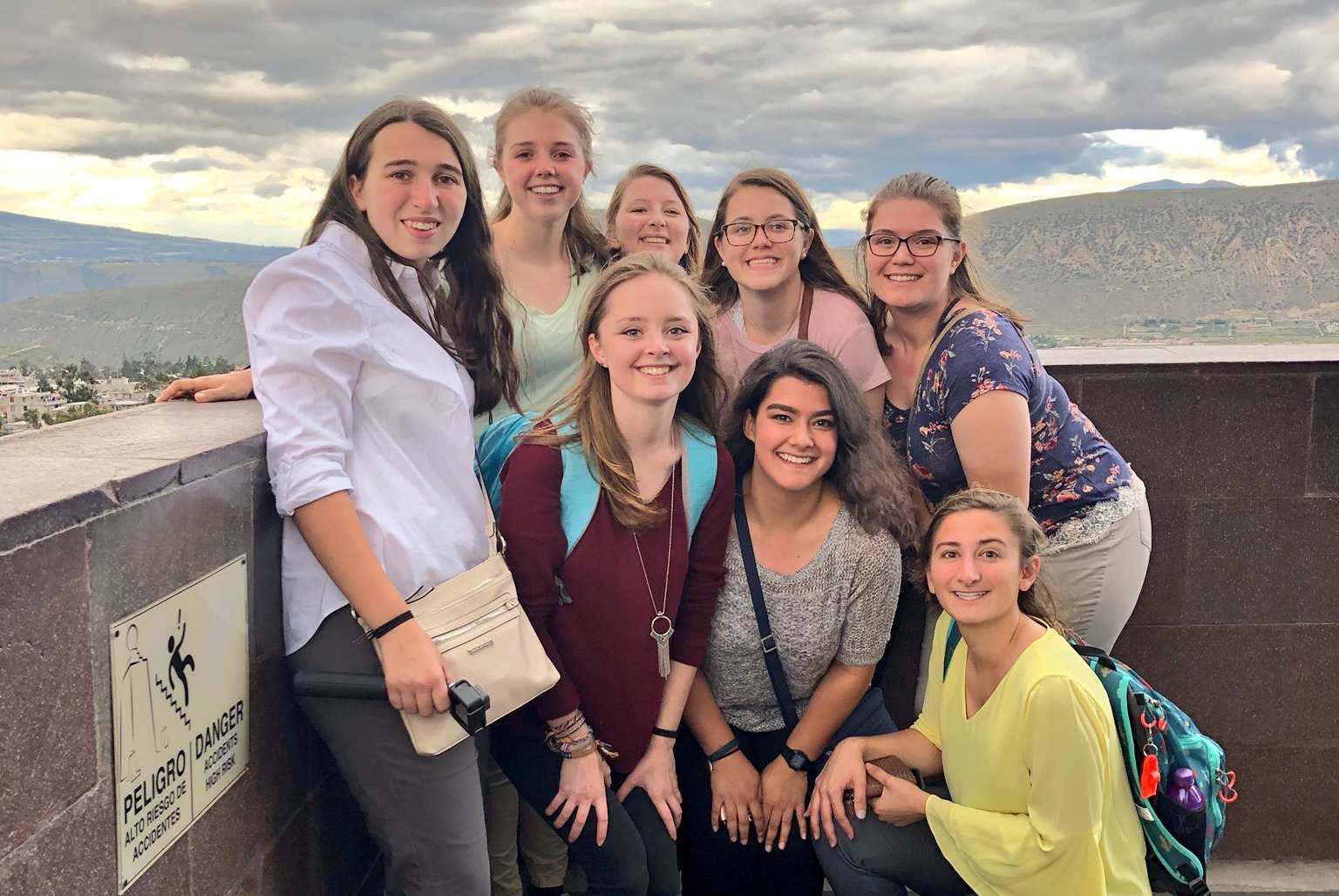 Virginia Tech students, study abroad experience