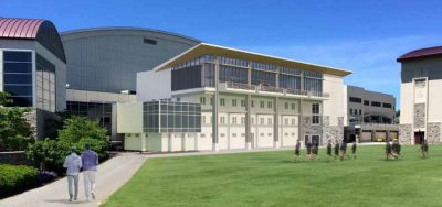 Student Athlete Performance Center Upgrades Rendering
