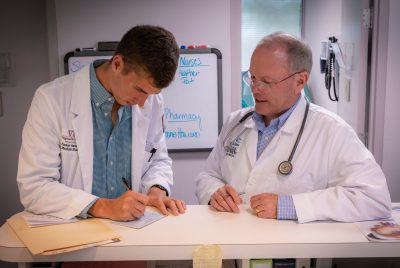 Medical student and physician