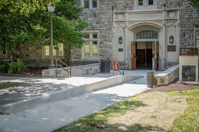 Patton hall Accessible entrance