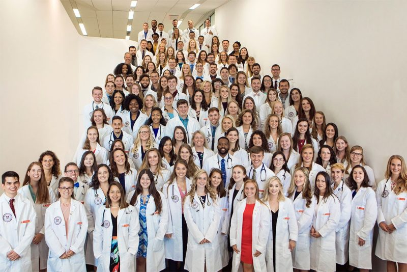 Virginia-Maryland College of Veterinary Medicine White Coat Ceremony 2019