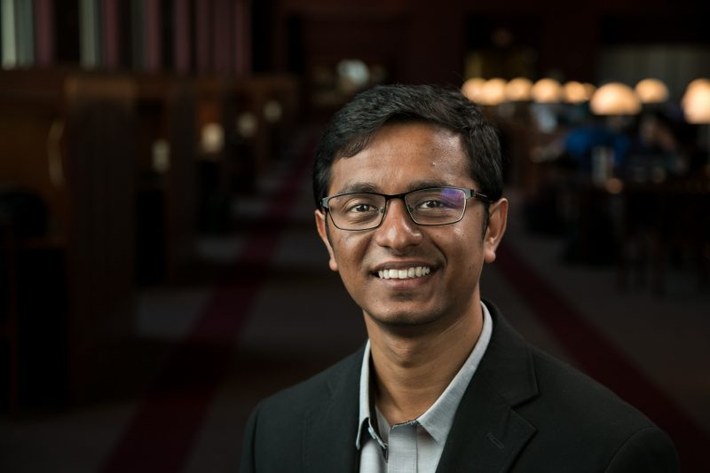 head shot of Srijan Sengupta