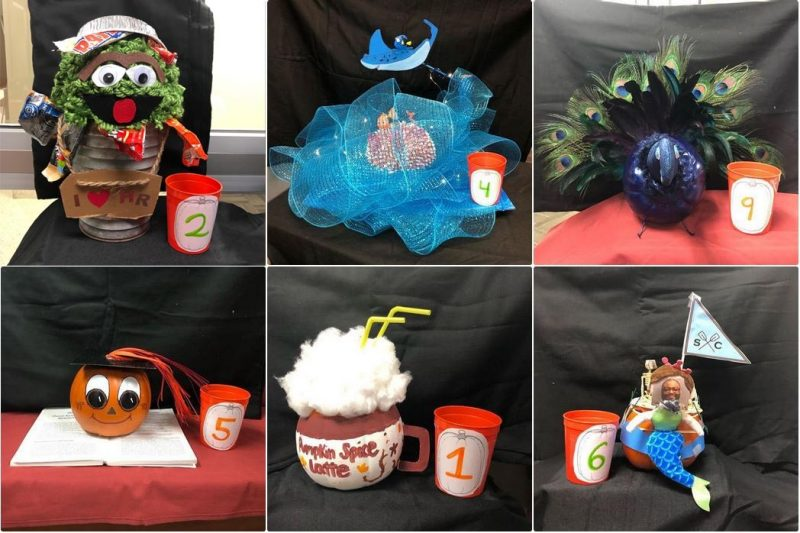 Photo variety of pumpkins for CVC pumpkin contest