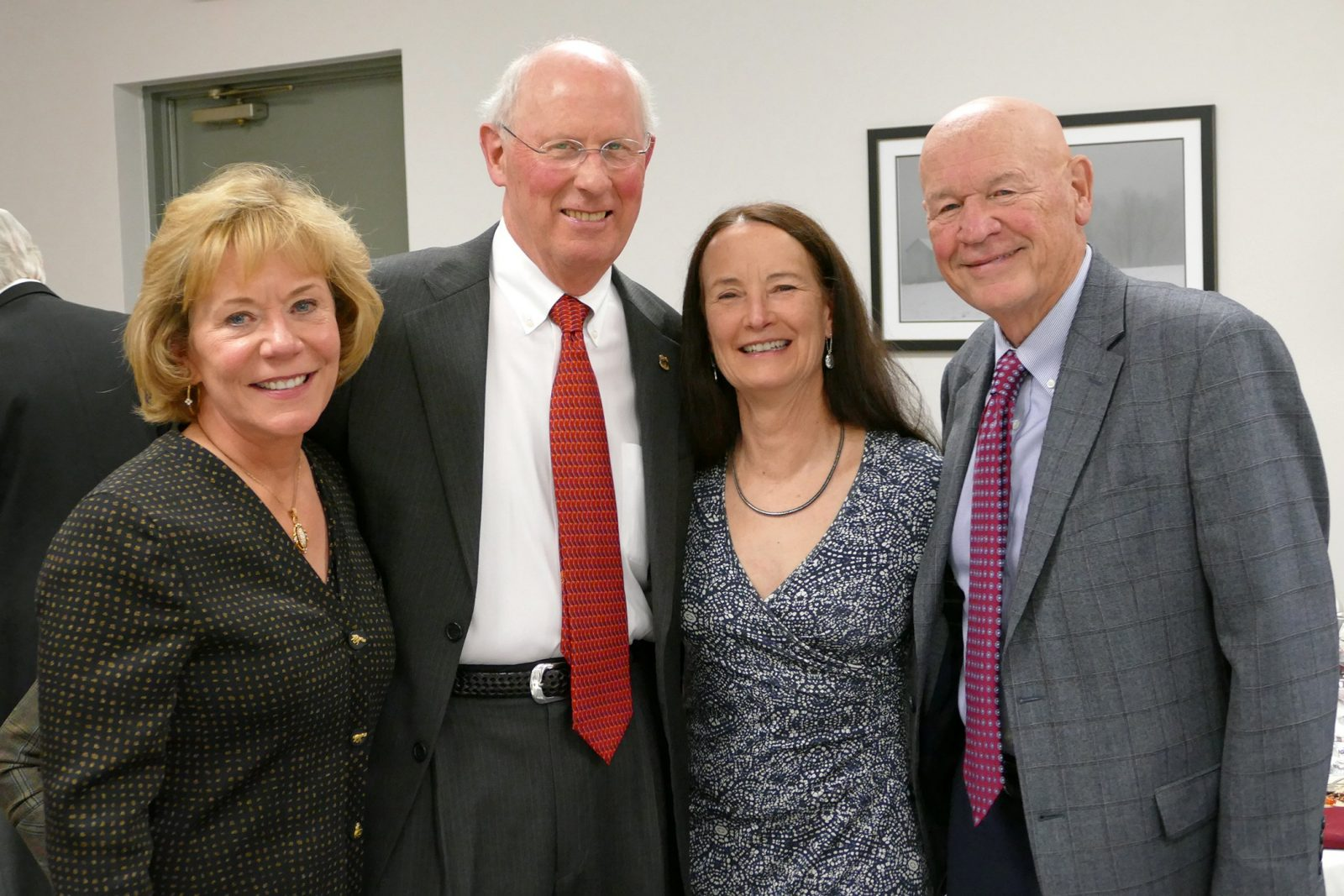Cindy Ingram, Dr. Nathaniel White, Dr. Leslie Sinn, and Douglas Ingram