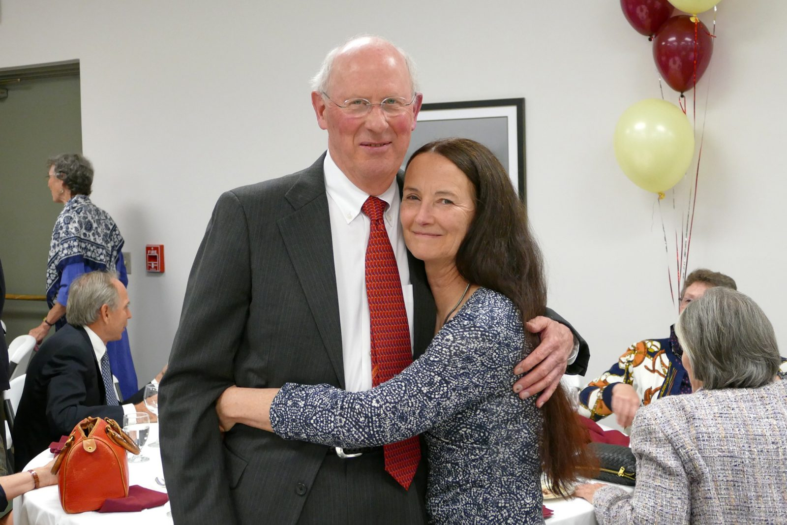 Dr. Nate White and his wife, Dr. Leslie Sinn