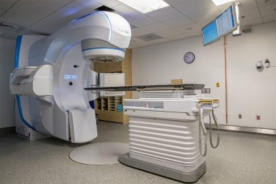 Varian linear accelerator at the Animal Cancer Care and Research Center