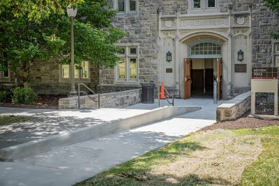 Accessible entrance Patton Hall