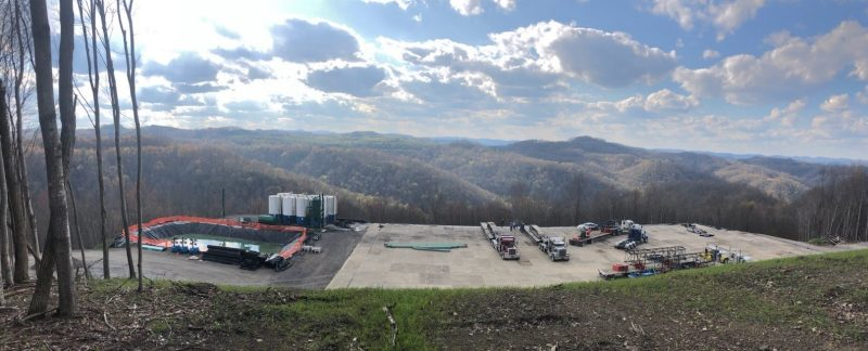 image of field lab site in Southwest Virginia