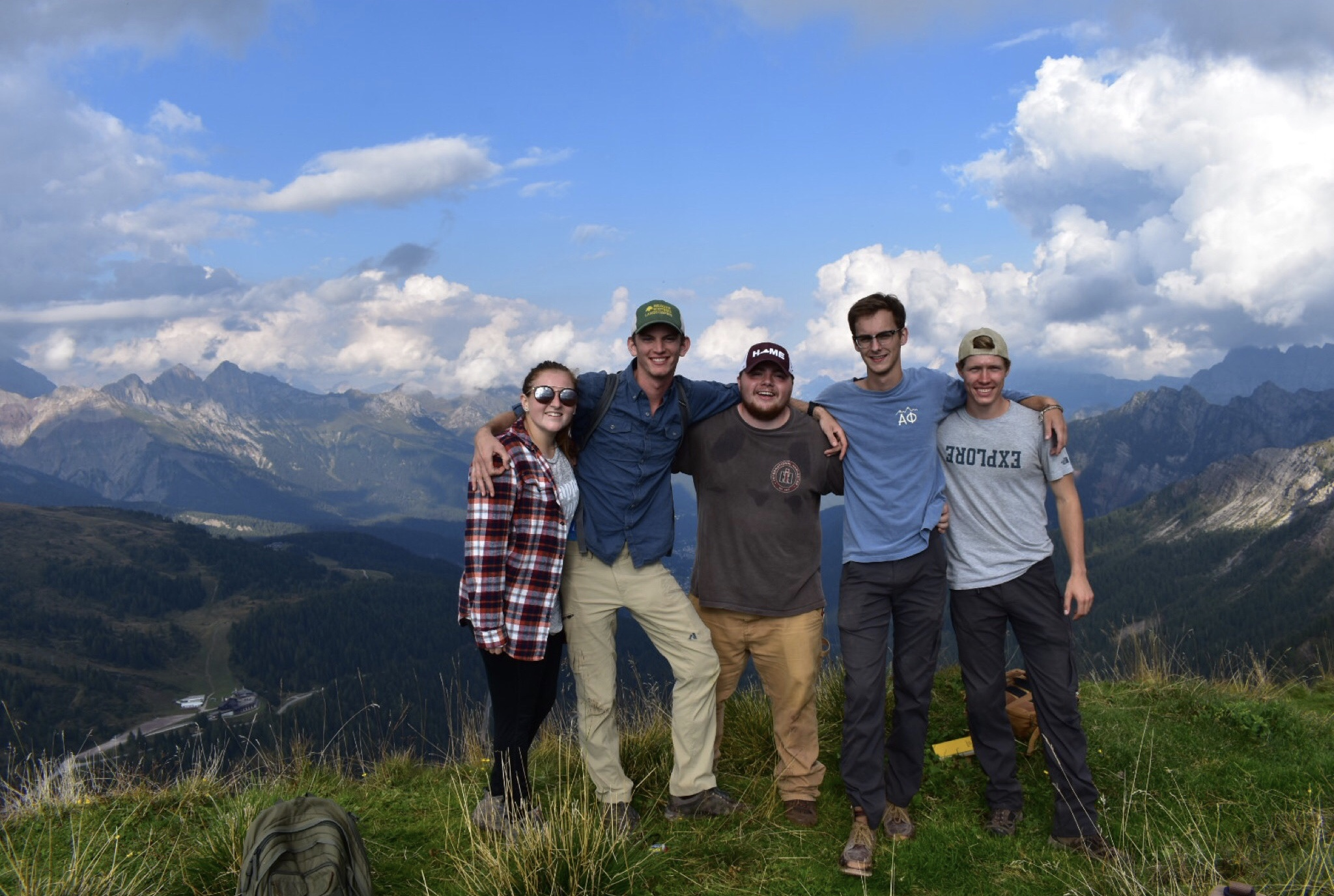Shelly Worek spent a semester studying abroad in Switzerland.