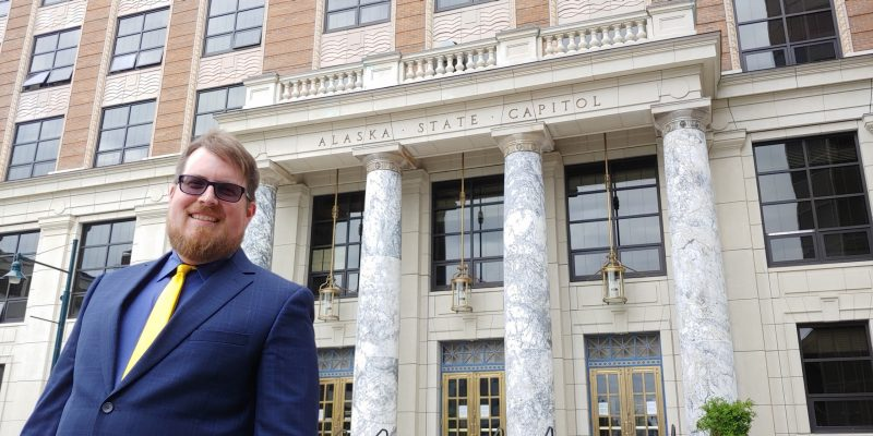 James Brooks '06, covers state government in Juneau, Alaska, for the Anchorage Daily News.