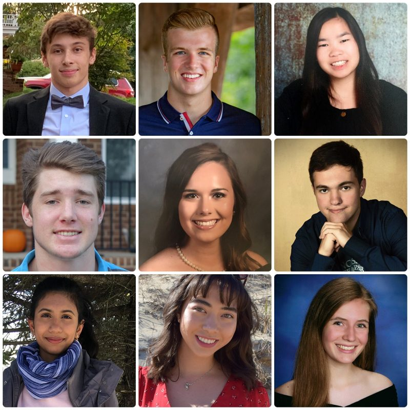 Virginia Tech's incoming Stamps Scholars for 2020