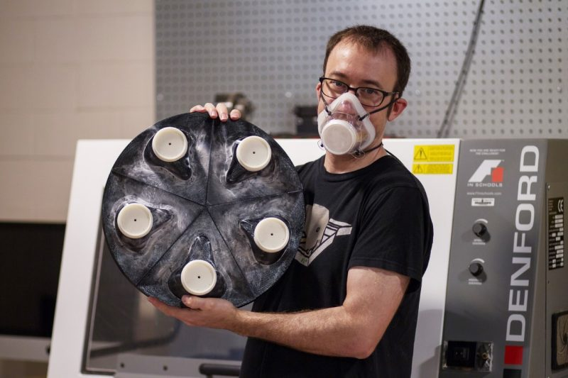 DREAMS lab's novel respirator design and shell molds