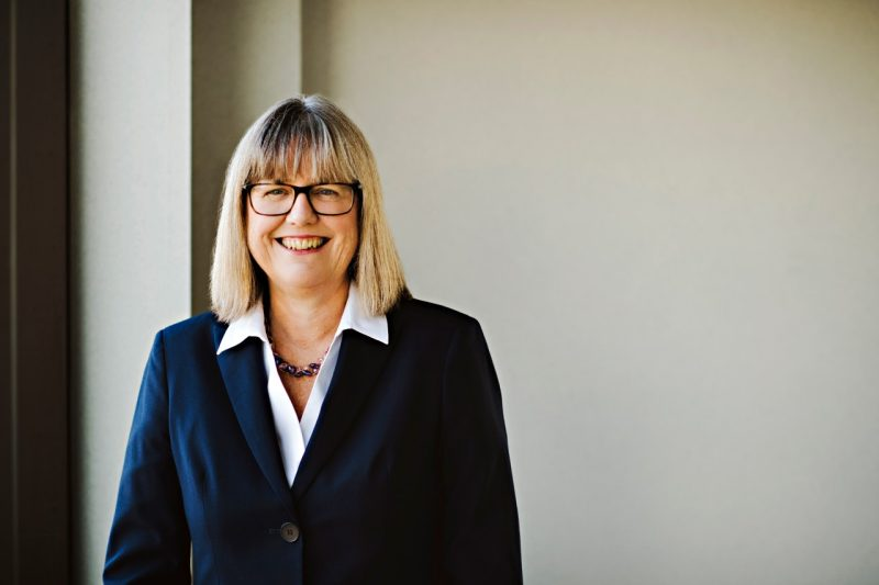 Nobel Laureate Donna Strickland of the University of Waterloo, in a 2018 photo.