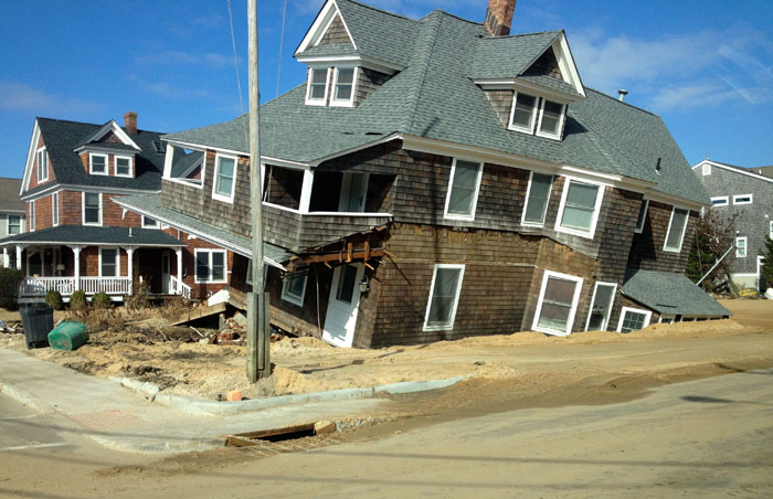 Long-buried seawall protected New Jersey homes from Hurricane Sandy's record storm surges
